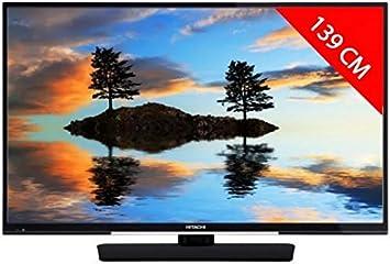Televisor LCD de retroiluminación LED Hitachi – 140 cm: Amazon.es: Electrónica