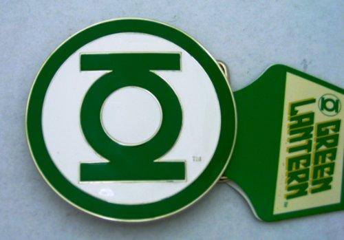 Green Lantern Belt Buckle DC Comics Logo Icon Movie Collectible Costume Metal