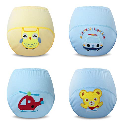 b8923322f Achiyi Baby Boys Reusable Pack of 4 Pack Toddler Toilet Potty ...