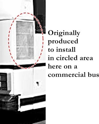Bus Truck Van Car Pair of Fiberglass Side Scoops 27 x 8