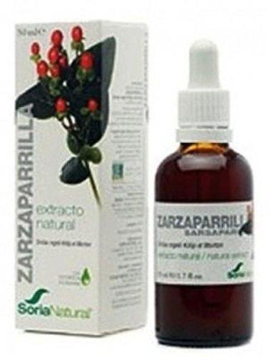 Extracto de Zarzaparrilla S/Al 50 ml de Soria Natural ...