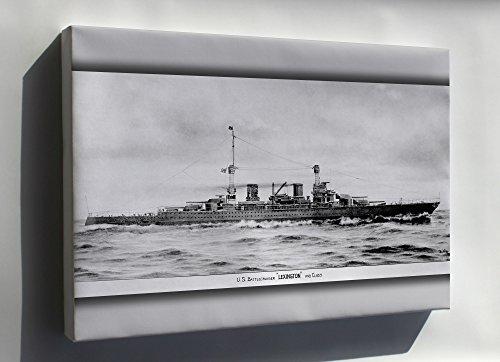 (Canvas 24x36; Lexington Class Battlecruiser 1919)