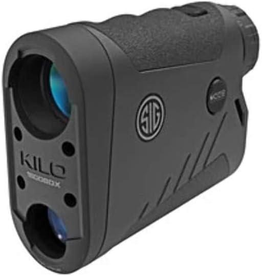 Sig Sauer Kilo1800BDX 6x22 Rangefinder, Black