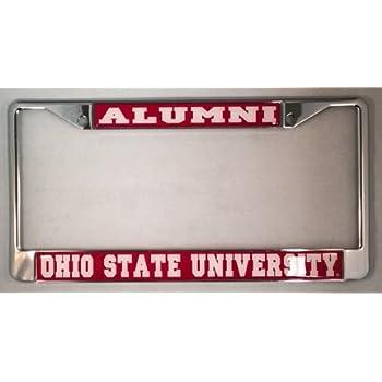 Amazon.com: Ohio State University Buckeyes Alumni License Plate ...