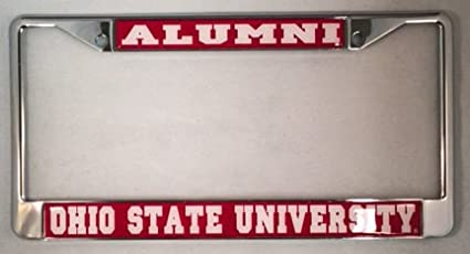 Ohio State University Buckeyes Alumni License Plate Frame