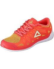 Peak Two-Tone Side Logo Detail Lace-up Unisex Running Shoes