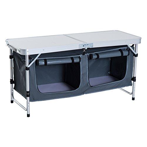 Outsunny 48 Aluminum Folding
