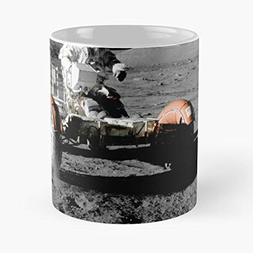 Apollo 17S Lunar Roving Vehicle 1972 By Nasa - Best 11 oz Coffee Mug Cheap Gift ()