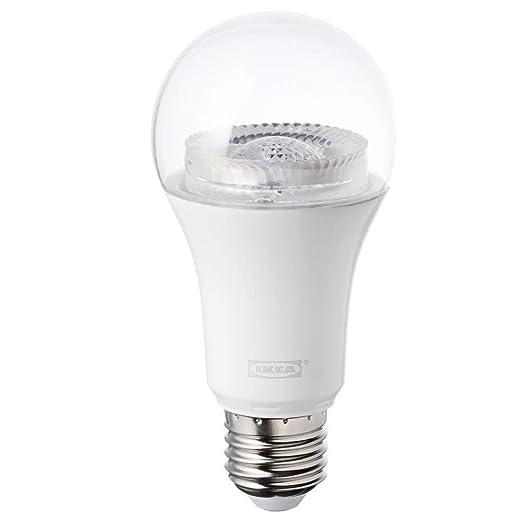TRADFRI - Bombilla LED E26 de 950 lúmenes, intensidad regulable, color blanco