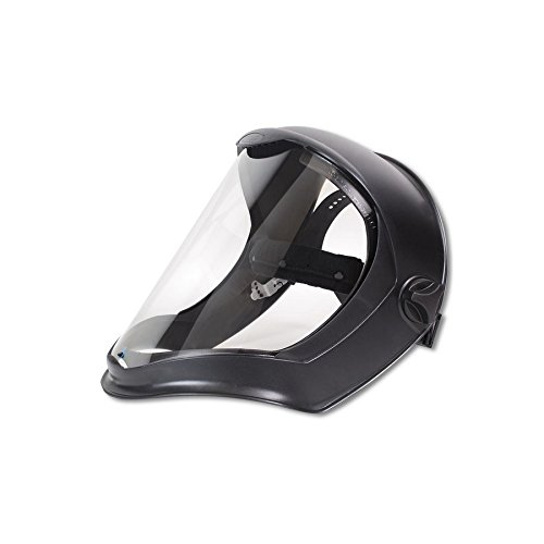 - Uvex Bionic Face Shield with Clear Polycarbonate Visor and Anti-Fog/Hard Coat (S8510)