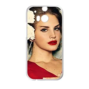 Fantastic red sexy woman Cell Phone Case for HTC One M8