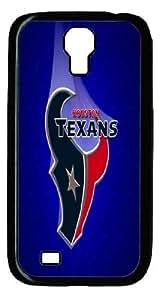 NFL Houston Texans Samsung Galaxy S4 I9500 Case Cover Custom Personalized Fashion Houston Texans Logo Samsung Galaxy S4 I9500 Case