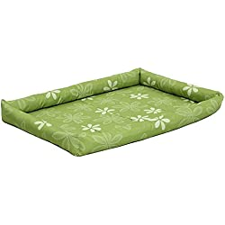 MidWest Homes for Pets Paradise Floral with Teflon Fabric Protector, 36-Inch, Green