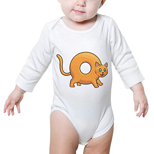 Doggie Bagels - Zhangyuyu Donut Bagel Cat Long Sleeve Baby Onesies Baby Jumpsuit