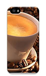 iPhone 5 5S Case Delicious Coffee 3D Custom iPhone 5 5S Case Cover