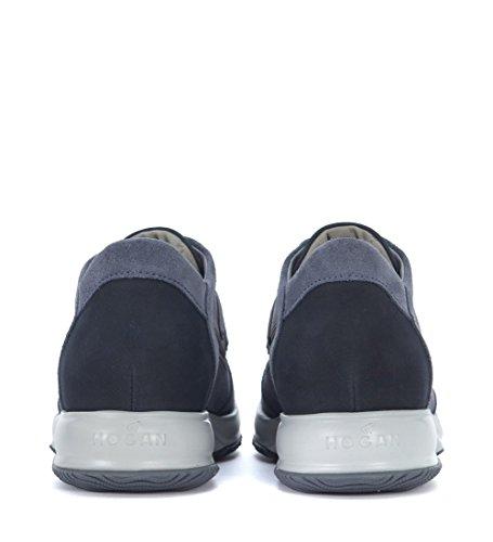 Hogan Sneaker Interactive in Suede Blu Blu