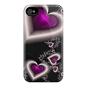 Hard Plastic Iphone 6 Cases Back Covers,hot 3d Hearts Cases At Perfect Customized Black Friday