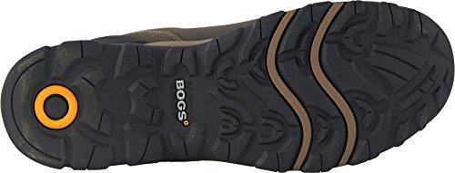 Paludi Mens Fondotinta In Pelle Impermeabile Mid Ct Industrial Boot Brown