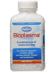 Hyland\'s Bioplasma Tablets, Natural Homeopathic Combination ...