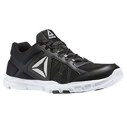 Reebok Yourflex Train 9.0 MT Running Shoe - Black White Grey - Mens - 8.5