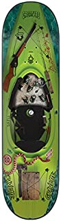 Creature Skateboard Deck Gravette Yak Attack - 8.25 inch Verde