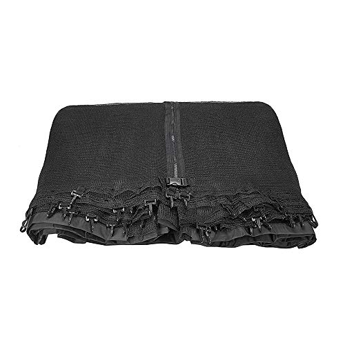 Safly Zone Trampoline Net Replacement Enclosure Safety Net for 12ft Round Frame Trampolines