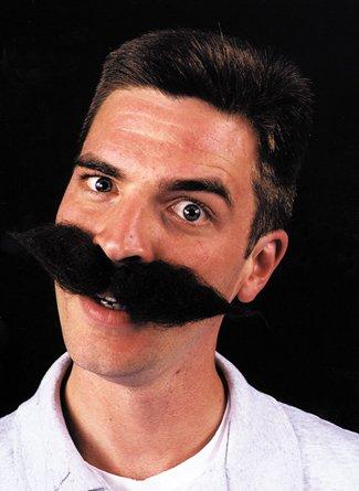 Super Schnauzer Black - Product Description - Large Wool Character Mustache. The Classic German Or European. ...