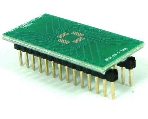 Proto-Advantage QFN-28 to DIP-28 SMT Adapter (0.5 mm pitch, 5 x 5 mm (Qfn Dip Adapter)