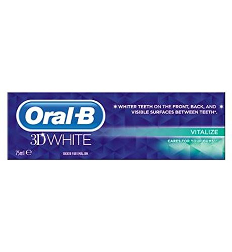 Oral-B 3D White Vitalize Toothpaste - 75Ml