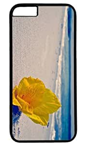Beach Flowers Easter Thanksgiving Masterpiece Limited Design PC Black Case for iphone 6 by Cases & Mousepads