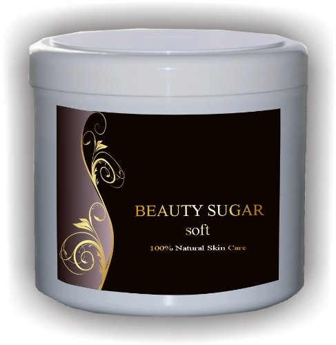 Beauty Sugar SOFT - Sugaring Zuckerpaste zur Haarentfernung - 500g Paste