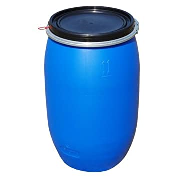 Image result for blue barrel