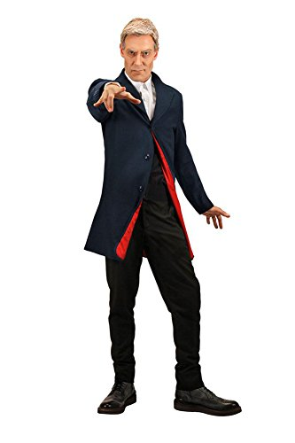 12th Doctor Costume Jacket (Doctor Who Twelfth Doctor Mens Jacket by elope)