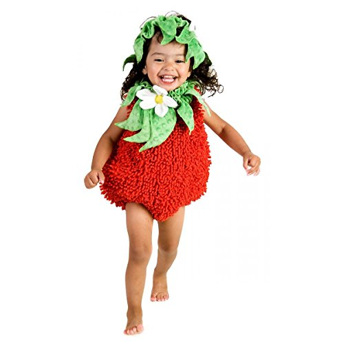 [Suzie Strawberry Costume - Baby 18-24] (Red Indian Princess Costume)