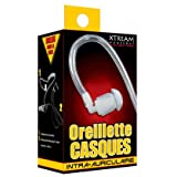 Xtream Wearther Air Tube Headsets Earbud Silicone Speakers GPS 39 po. Translucent