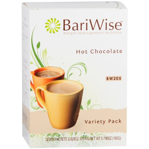Country Instant Hot Only Water (BariWise High Protein Hot Cocoa - Instant Low-Carb, Low Calorie Hot Chocolate Mix with 15g Protein - Variety Pack (7 Count))
