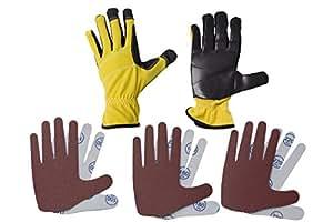 Peel & Stick Sanding Duel Hand Glove Set (Large)