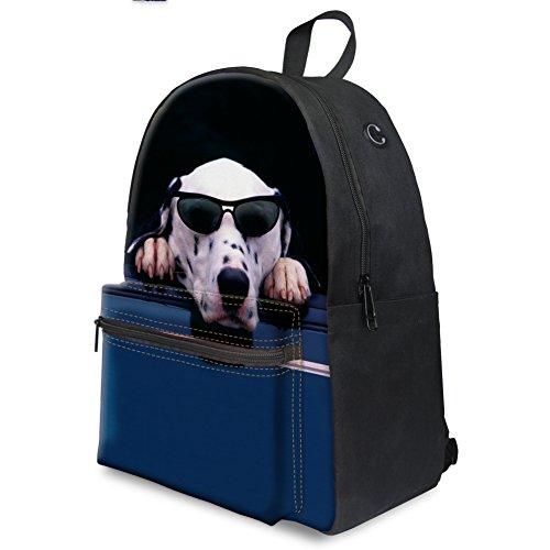 Hombro 5 Large Mujer al para K Dog Galaxy Bolso glasses Coloranimal Cat CC3654J vznRxqI