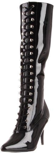 Unlined Length Blk Pleaser Classic Long Boots Black Women's Black 2020 Pat Vanity ttqwT0v