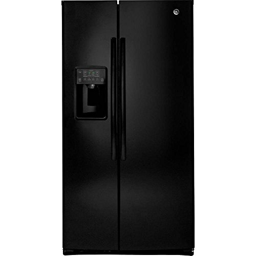 GE GSE25HGHBB Black Side Refrigerator