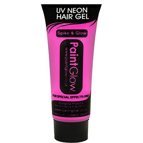10ml Pink Paintglow Uv Hair Gel -