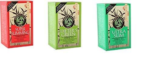 Triple Leaf Detox Tea - Triple Leaf Tea Weight Management Variety 3 Pack (Ultra-Dieters-Slimming)