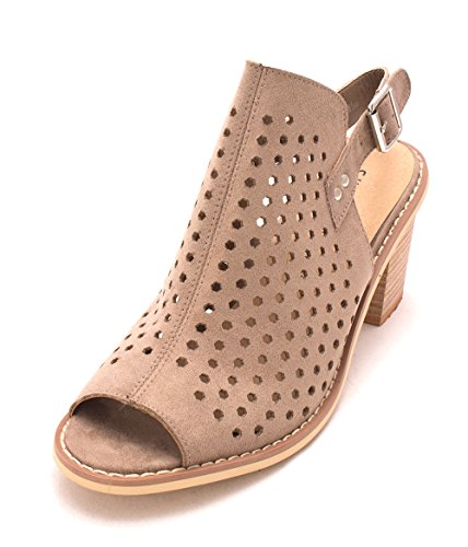 Chinese Laundry Womens Christabel Peep Toe Vristen Rem Mules Toffey