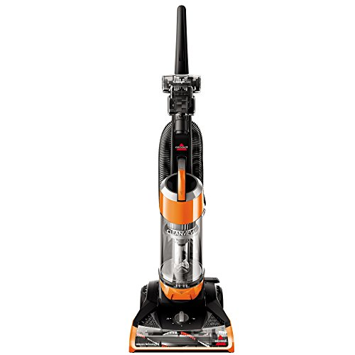 Allergen Filtration System - Bissell Cleanview Upright Bagless Vacuum Cleaner, Orange, 1831