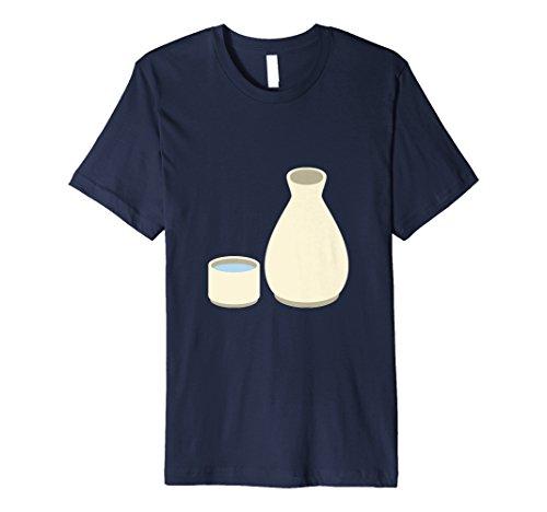 Premium Sake Japanese (Japanese Food and Drink Sushi Sake Bomb T-Shirt)