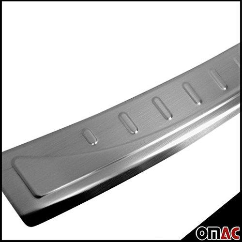 Seat Ateca Protezione paraurti con smussatura in acciaio inox cromato V2A modello dal 2016