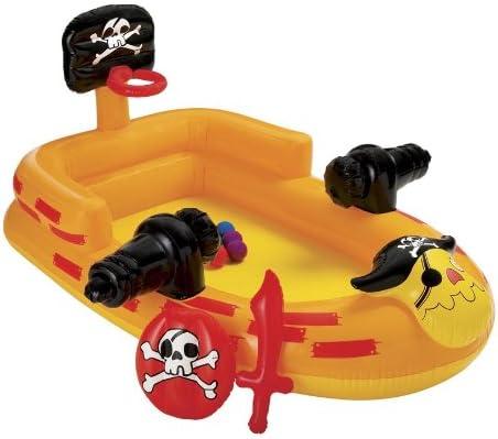 Intex 48663NP - Centro de juegos en forma de barco pirata con ...