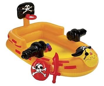 Intex 48663NP - Centro de juegos en forma de barco pirata con accesorios [importado de Alemania]