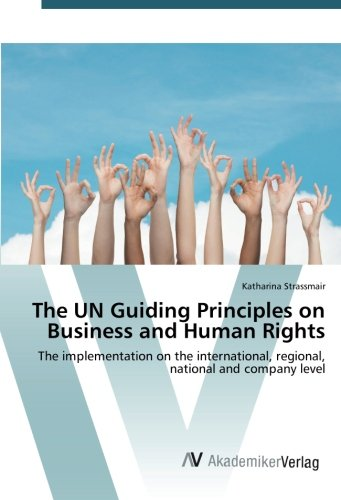The UN Guiding Principles on Business and Human Rights: The implementation on the international, regional, national and company level (Guiding Principles On Business And Human Rights)