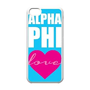 Love Alpha Phi iPhone 5c Cell Phone Case White&Phone Accessory STC_943834